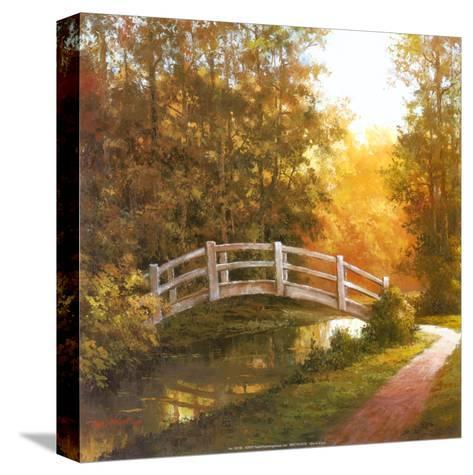 Wooden Bridge-T^ C^ Chiu-Stretched Canvas Print