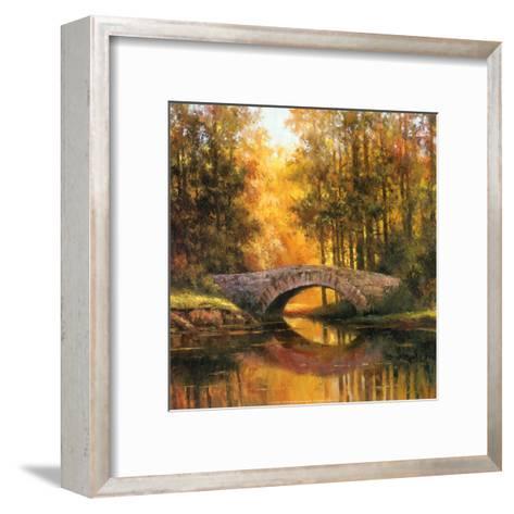 Stone Bridge-T^ C^ Chiu-Framed Art Print
