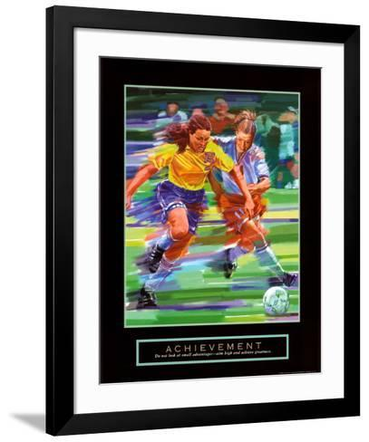 Achievement: Soccer-Bill Hall-Framed Art Print