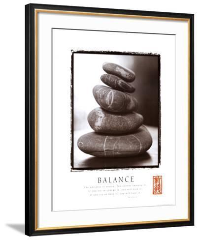 Balance: Rocks--Framed Art Print