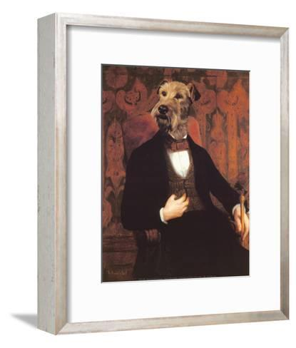 Monsieur-Thierry Poncelet-Framed Art Print