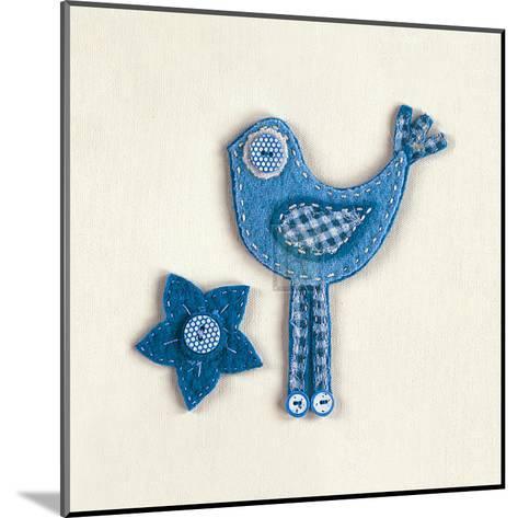 Fuzzy Bird II-Madeleine Millington-Mounted Art Print