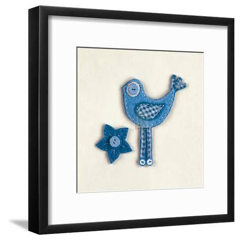 Fuzzy Bird II-Madeleine Millington-Framed Art Print