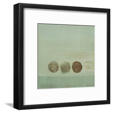 Aqua Drops I-Karen Lorena Parker-Framed Art Print