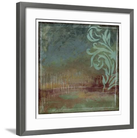 Lush Filigree I-Jennifer Goldberger-Framed Art Print