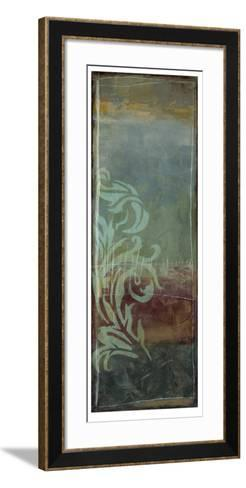 Lush Filigree V-Jennifer Goldberger-Framed Art Print