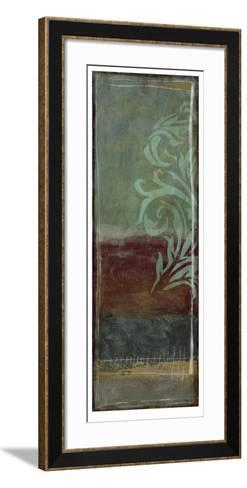 Lush Filigree VI-Jennifer Goldberger-Framed Art Print
