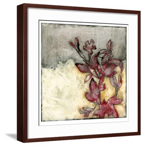 Platinum Silhouette I-Jennifer Goldberger-Framed Art Print