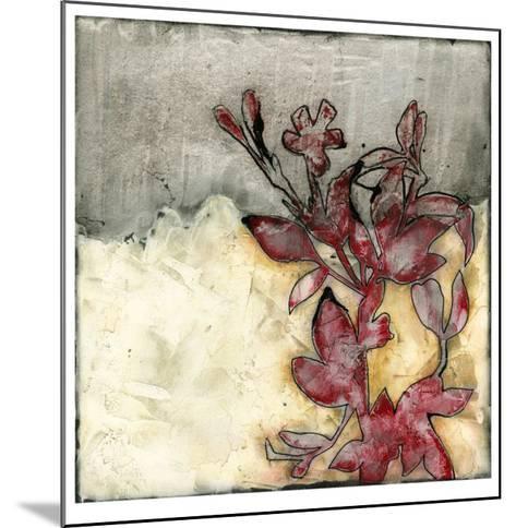 Platinum Silhouette I-Jennifer Goldberger-Mounted Limited Edition