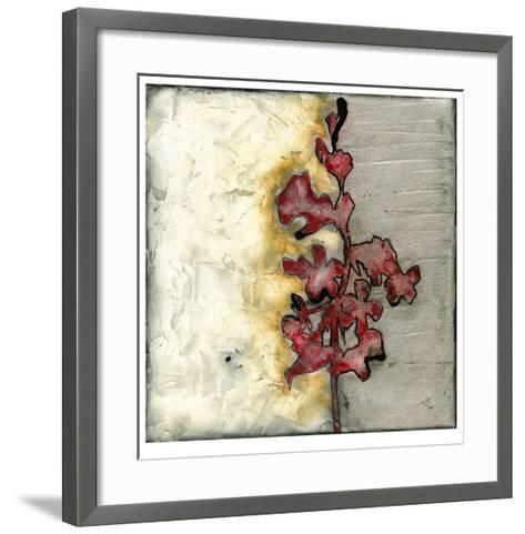Platinum Silhouette III-Jennifer Goldberger-Framed Art Print