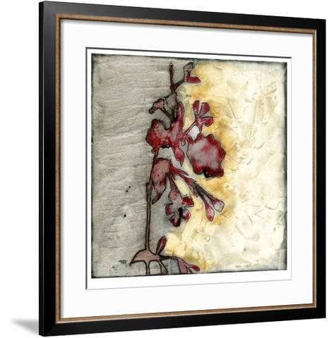 Platinum Silhouette IV-Jennifer Goldberger-Framed Art Print