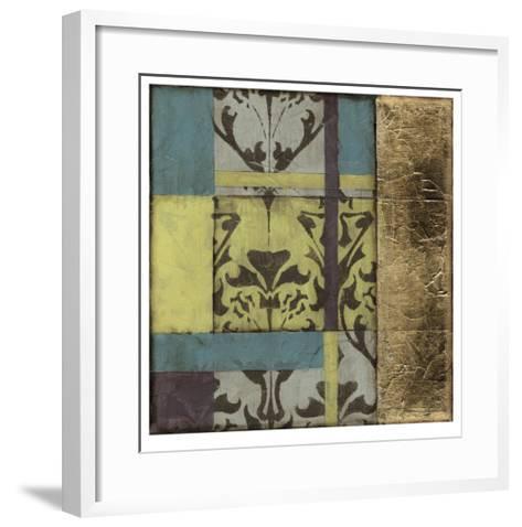 Jeweled Transom IV-Jennifer Goldberger-Framed Art Print