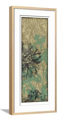 Tandem Blooms IV-Jennifer Goldberger-Framed Art Print