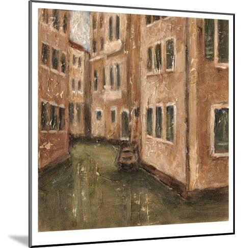 Canal View III-Ethan Harper-Mounted Limited Edition