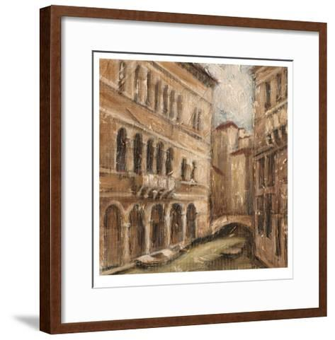 Canal View IV-Ethan Harper-Framed Art Print