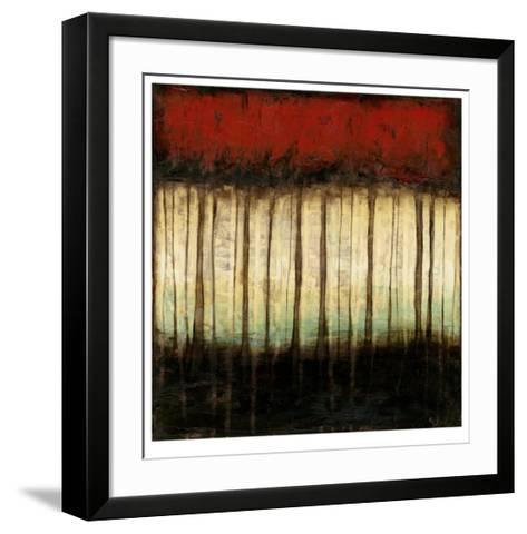 Autumnal Abstract II-Jennifer Goldberger-Framed Art Print