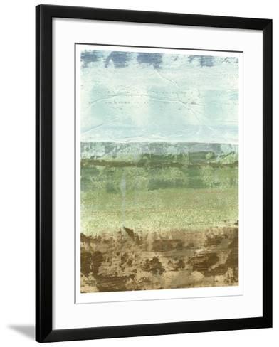 Extracted Landscape I-Megan Meagher-Framed Art Print