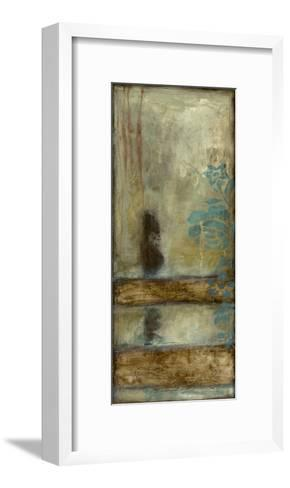 Teal Patina II-Jennifer Goldberger-Framed Art Print