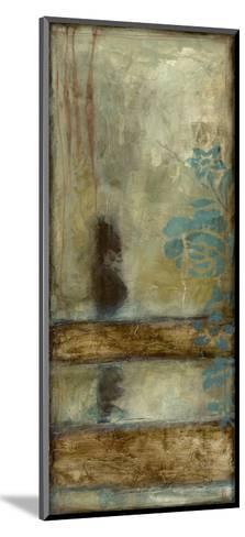 Teal Patina II-Jennifer Goldberger-Mounted Art Print