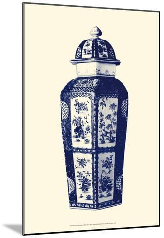 Manor Porcelain in Blue III--Mounted Art Print