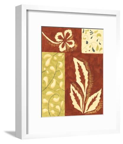 Festive Floral I-Virginia A^ Roper-Framed Art Print