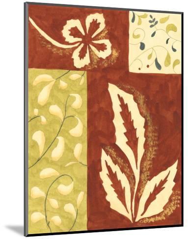 Festive Floral I-Virginia A^ Roper-Mounted Art Print