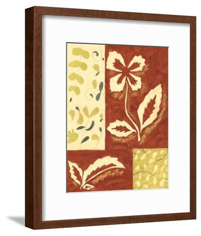 Festive Floral II-Virginia A^ Roper-Framed Art Print