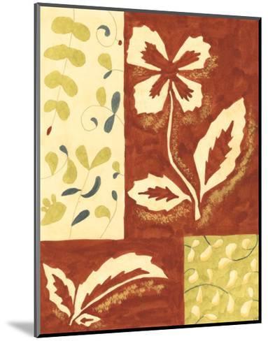 Festive Floral II-Virginia A^ Roper-Mounted Art Print