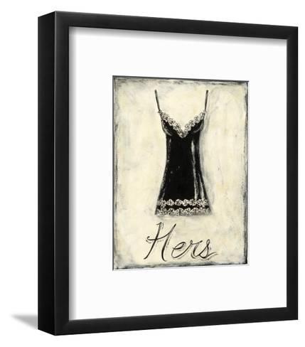 Hers: French Lace-Chariklia Zarris-Framed Art Print