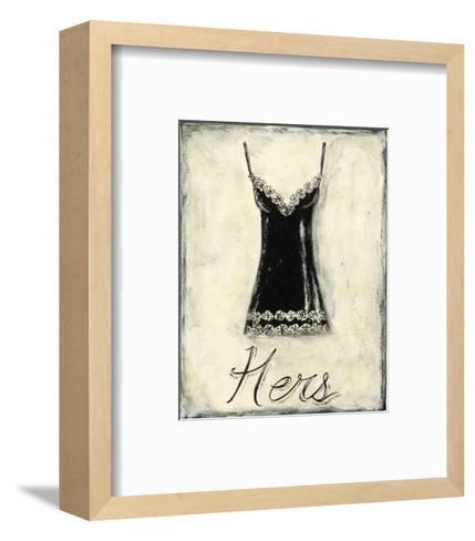 Hers: French Lace Art Print by Chariklia Zarris | Art.com