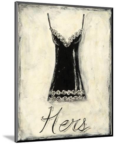 Hers: French Lace-Chariklia Zarris-Mounted Art Print