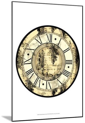 Aged Elegance Clock--Mounted Art Print