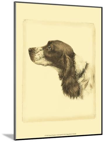 Danchin Cocker Spaniel-Danchin-Mounted Art Print