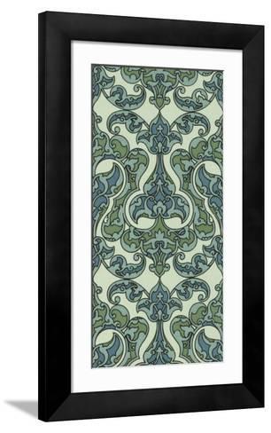 Mediterranean Panel II-Racinet-Framed Art Print