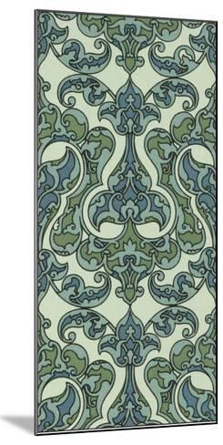 Mediterranean Panel II-Racinet-Mounted Giclee Print