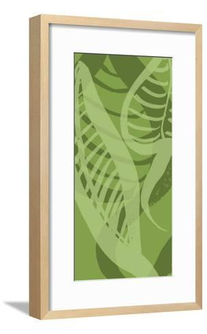 Shades of Green I-Alicia Ludwig-Framed Art Print