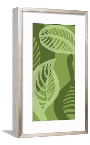 Shades of Green III-Alicia Ludwig-Framed Art Print