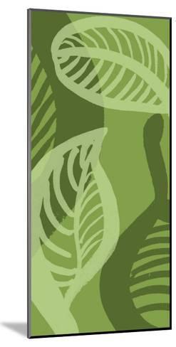 Shades of Green III-Alicia Ludwig-Mounted Giclee Print