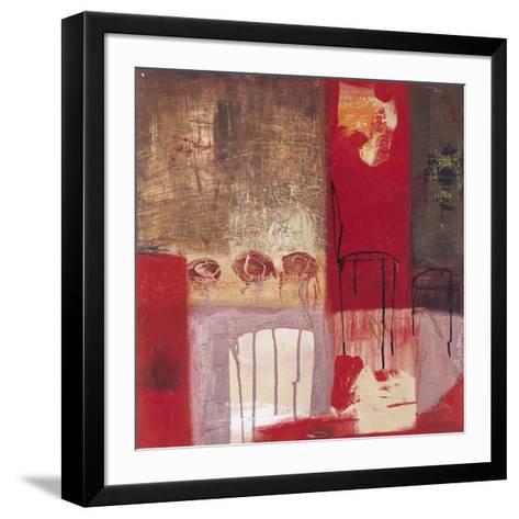 La Chaise et le Tabouret-Jocelyne Bonzom-Framed Art Print