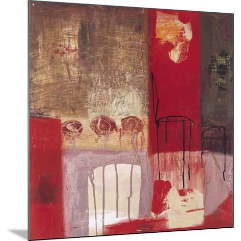 La Chaise et le Tabouret-Jocelyne Bonzom-Mounted Art Print