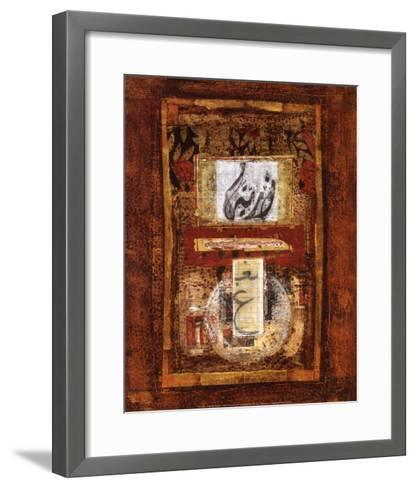 Calligraphie-Lucie Granetier-Framed Art Print