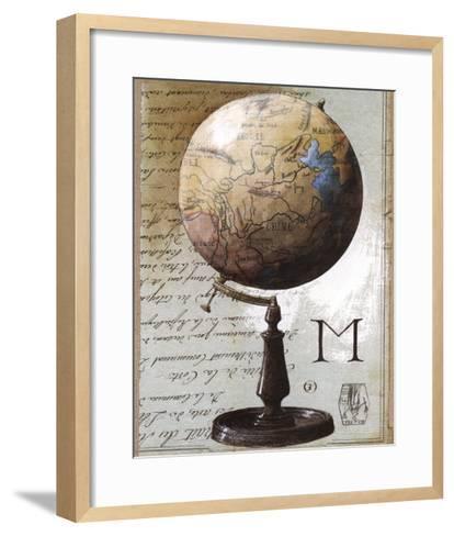 Globe-Gouny & Marange-Framed Art Print