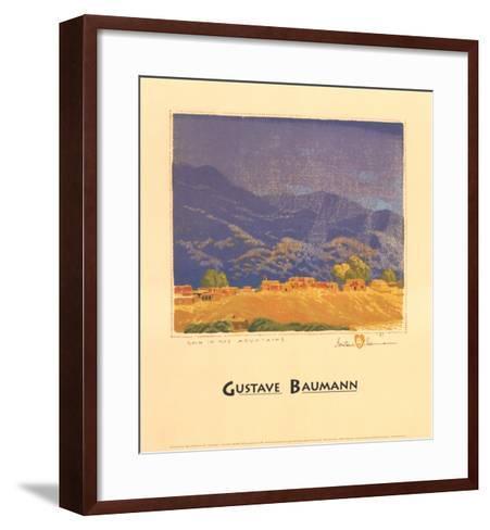 Rain in the Mountains-Gustave Baumann-Framed Art Print