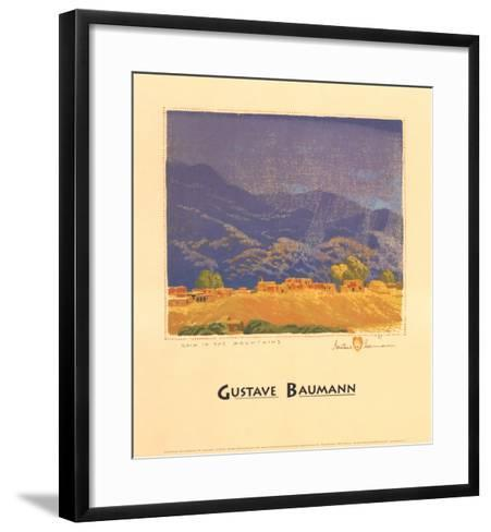 Rain in the Mountains-Gustave Baumann-Framed Art Print