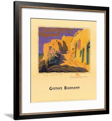 Old Santa Fe-Gustave Baumann-Framed Art Print