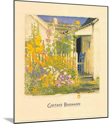 Grandma Battin's Garden-Gustave Baumann-Mounted Art Print