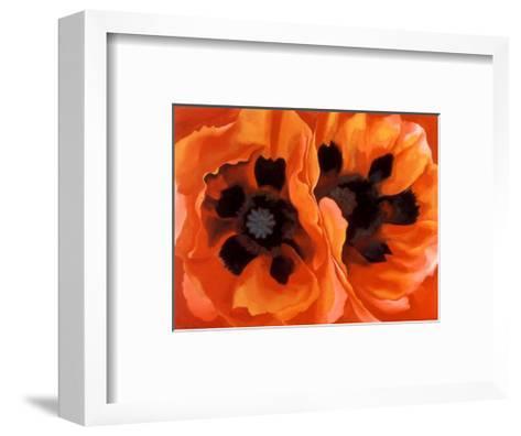 Oriental Poppies-Georgia O'Keeffe-Framed Art Print