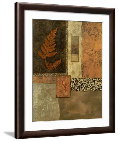 Exotic Fern I-Norm Olson-Framed Art Print