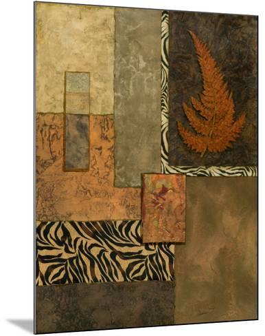 Exotic Fern II-Norm Olson-Mounted Art Print