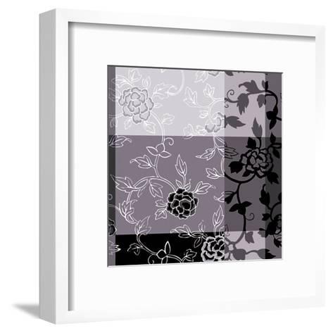 Camelias Noirs I-Magalie D?sir?-Framed Art Print